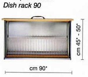 6630900 Plate Organiser