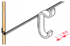 451005 Coat Hook